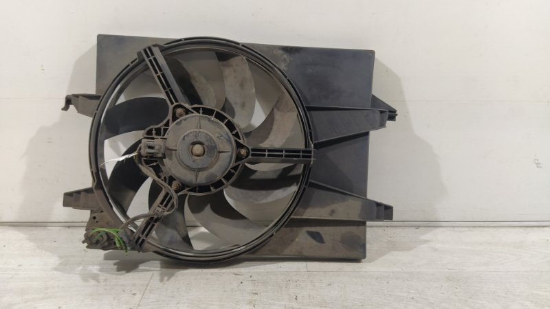 Вентилятор радиатора (в сборе) Ford Fiesta (2001-2008) (б/у)