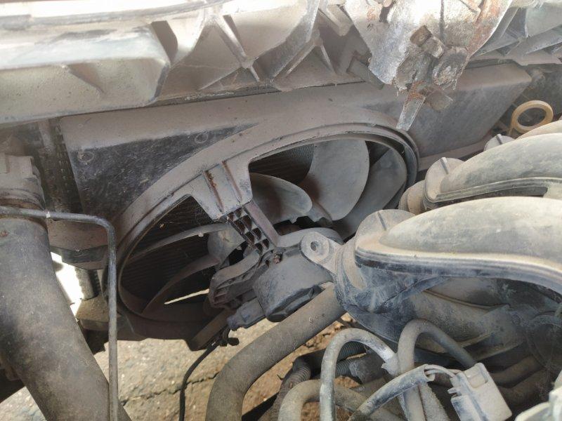 Вентилятор радиатора (в сборе) Ford Fusion 2001-2012 ХЭТЧБЕК 1.4L DURATEC 16V EFI DOHC (75/80PS) 01.2006 (б/у)