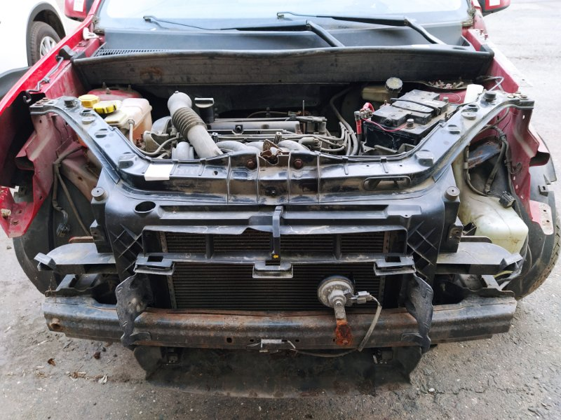 Панель передняя (телевизор) Ford Fusion 2001-2012 ХЭТЧБЕК 1.4L DURATEC 16V EFI DOHC (75/80PS) 01.2006 (б/у)