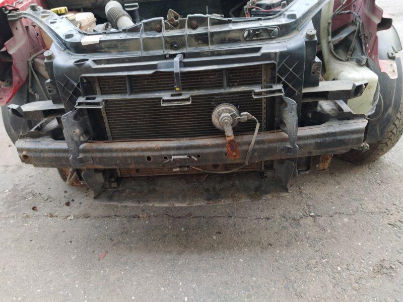 Усилитель переднего бампера Ford Fusion 2001-2012 ХЭТЧБЕК 1.4L DURATEC 16V EFI DOHC (75/80PS) 01.2006 (б/у)