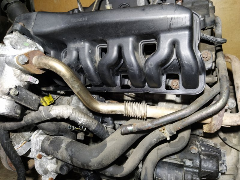 Трубка картерных газов Ford Transit (2000-2006) (б/у)