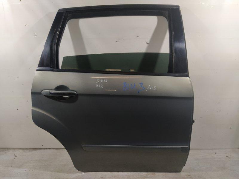 Дверь задняя правая Ford S-Max 2006- (б/у)