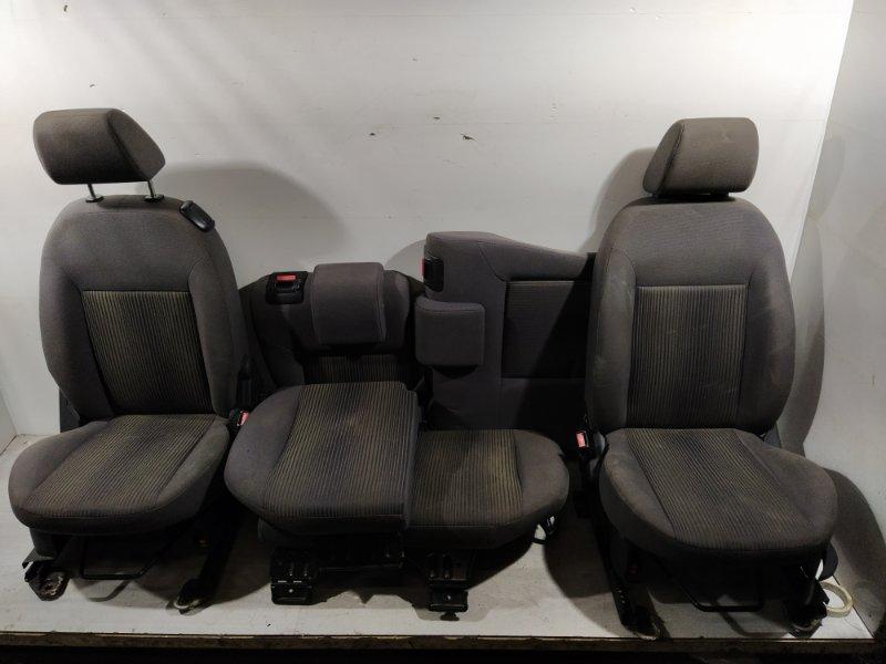 Сиденья (салон в сборе) Ford Fusion 2001-2012 ХЭТЧБЕК 1.4L DURATEC 16V EFI DOHC (75/80PS) 01.2006 (б/у)