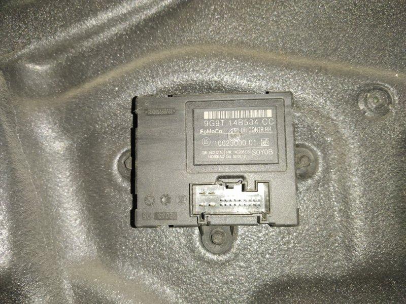 Блок управления стеклоподъемниками Ford S-Max 2006- задний левый (б/у)