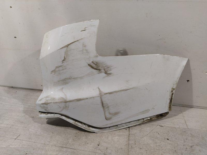 Накладка заднего бампера Ford Focus 3 (2011>) правая (б/у)