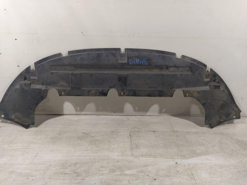 Защита переднего бампера Ford Focus 2 2004-2008 нижняя (б/у)