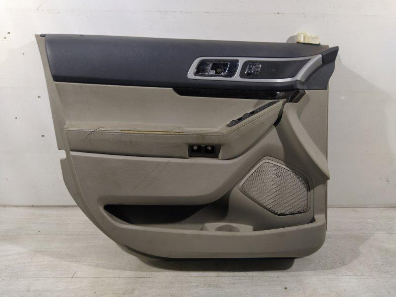 Обшивка двери передней левой Ford Explorer (2011-) (б/у)