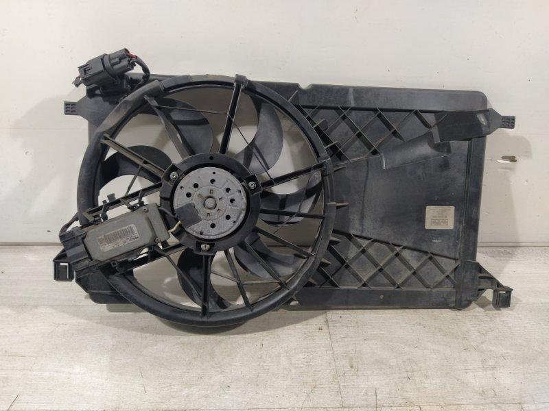 Вентилятор радиатора (в сборе) Ford Focus 2 2004-2008 (б/у)