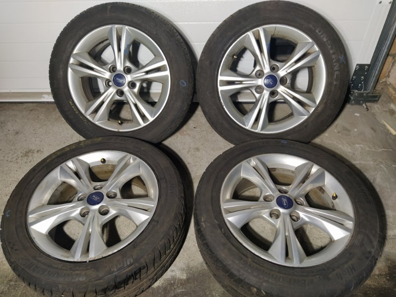 Диск литой r16 Ford Focus 3 (2011>) ХЭТЧБЕК 1.6L DURATEC TI-VCT (123PS) - SIGMA 2012 (б/у)