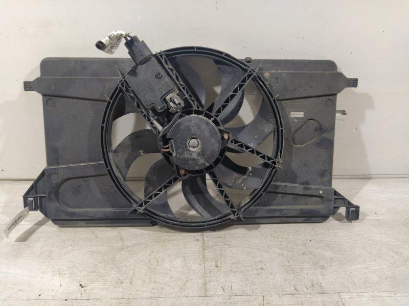 Вентилятор радиатора (в сборе) Ford Focus 2 2008-2011 (б/у)