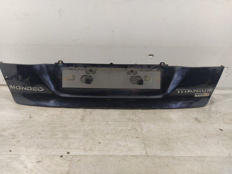 Накладка крышки багажника Ford Mondeo 4 (2007-2014) нижняя (б/у)