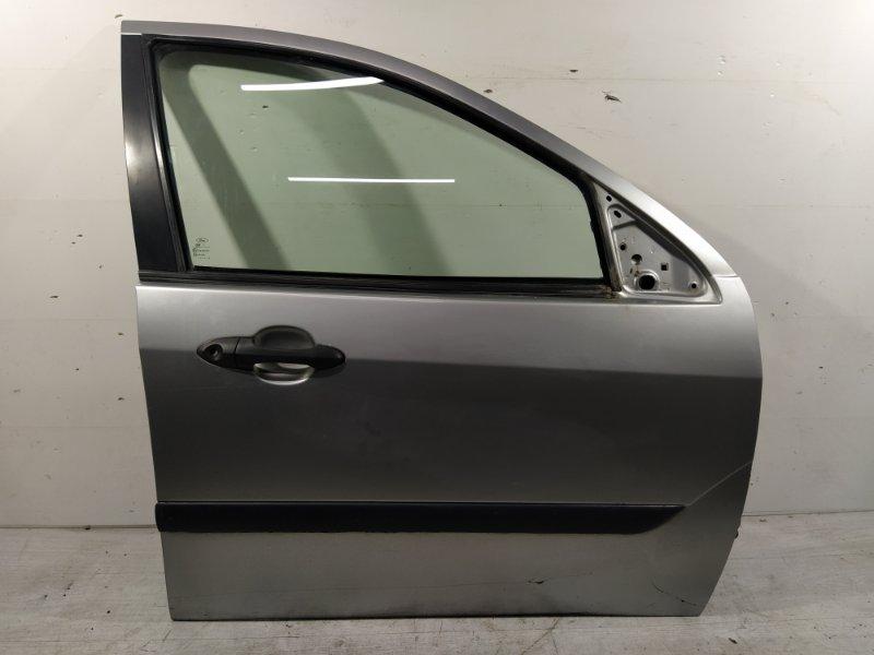 Дверь передняя правая Ford Focus 1 1998-2005 ХЭТЧБЕК 1.6L ZETEC ROCAM 2002 (б/у)