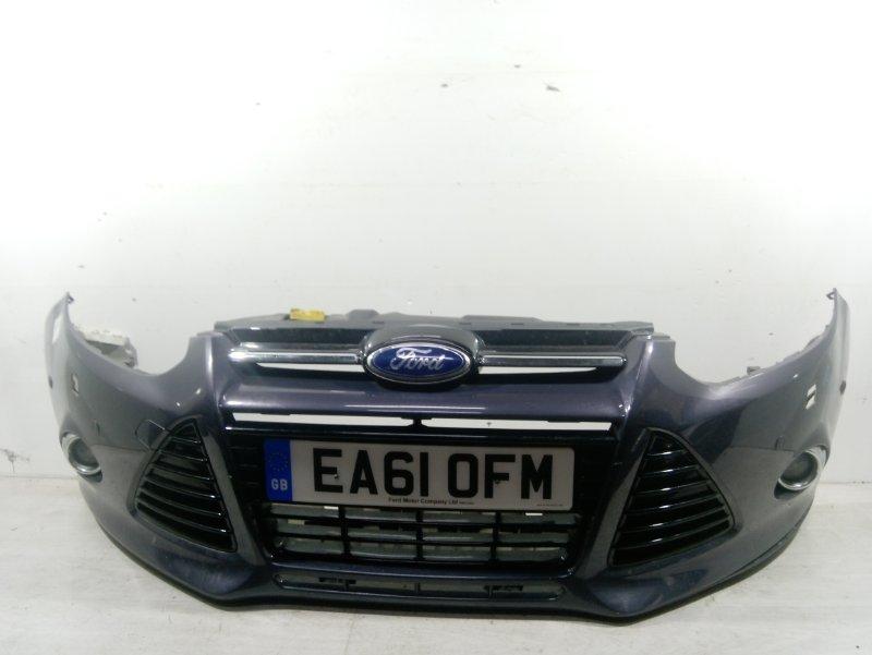 Бампер передний Ford Focus 3 (2011>) ХЭТЧБЕК 2.0L DURATORQ DOHC(150/163PS)-DW10C 2011 (б/у)