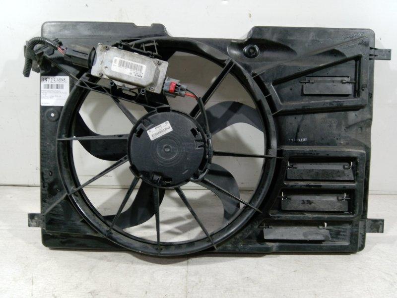 Вентилятор радиатора (в сборе) Ford Focus 3 (2011>) ХЭТЧБЕК 2.0L DURATORQ DOHC(150/163PS)-DW10C 2011 (б/у)