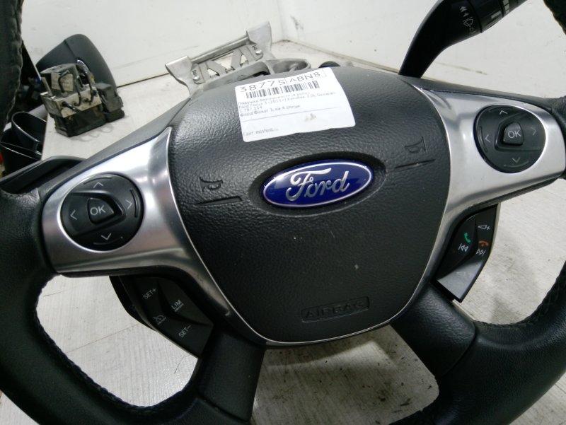 Подушка безопасности (в руль) Ford Focus 3 (2011>) ХЭТЧБЕК 2.0L DURATORQ DOHC(150/163PS)-DW10C 2011 (б/у)