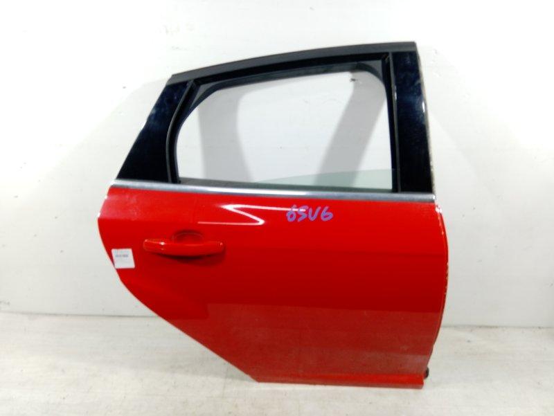 Дверь задняя правая Ford Focus 3 (2011>) ХЭТЧБЕК 1.6L IQDB 2013 (б/у)