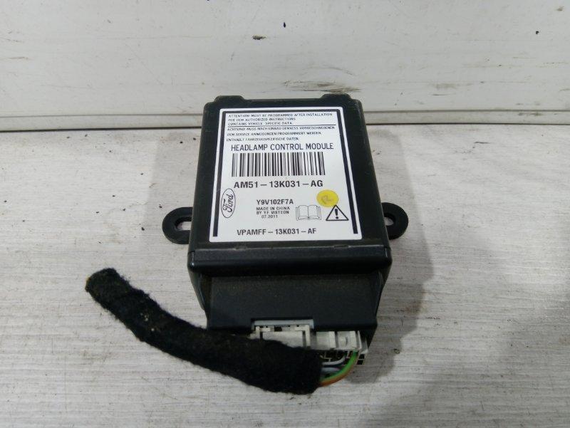 Блок управления светом Ford Focus 3 (2011>) ХЭТЧБЕК 2.0L DURATORQ DOHC(150/163PS)-DW10C 2011 (б/у)