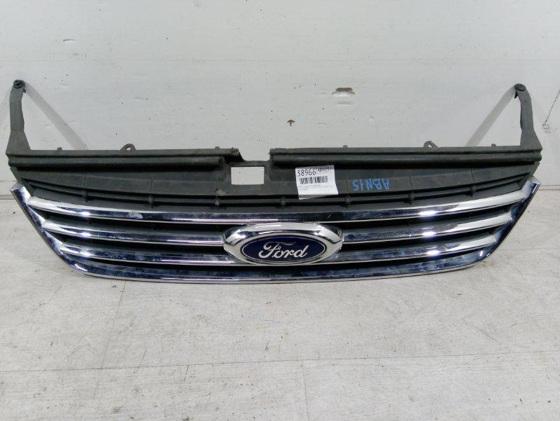 Решетка радиатора верхняя Ford Mondeo 4 (2007-2014) ХЭТЧБЕК 2.0L DURATEC-HE (145Л.С.) 2007 (б/у)