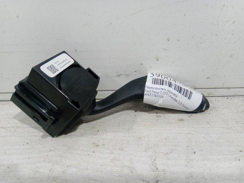 Переключатель дворников Ford Focus 3 (2011>) ХЭТЧБЕК 2.0L DURATORQ DOHC(150/163PS)-DW10C 2011 (б/у)