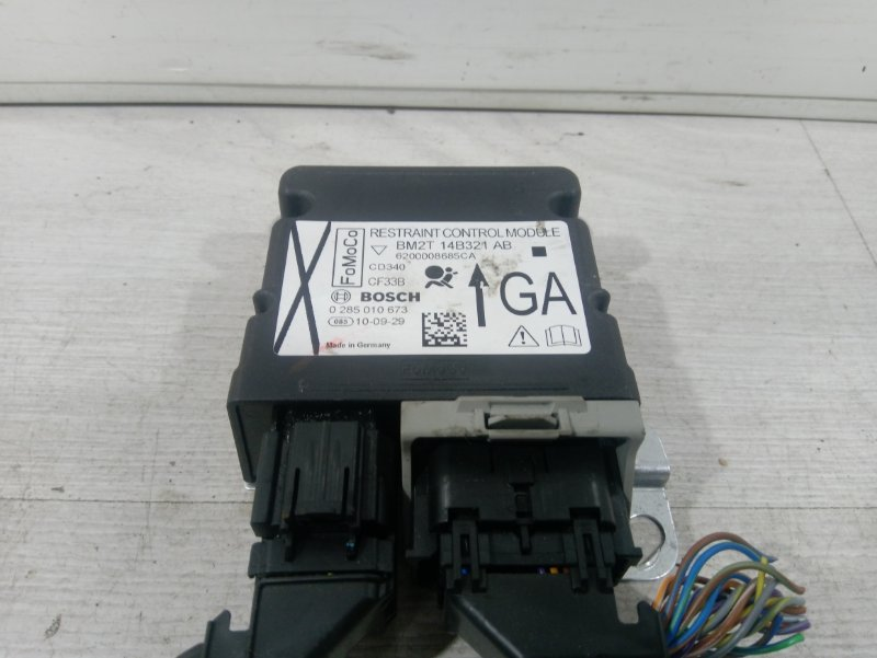 Блок управления air bag Ford Galaxy 2006-2015 2.0L ECOBOOST (200PS) - MI4 2010 (б/у)
