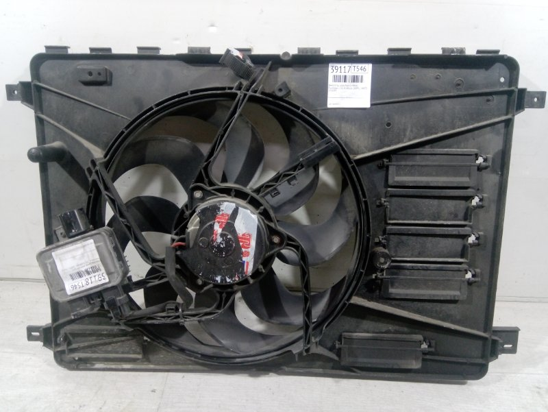Вентилятор радиатора (в сборе) Ford Galaxy 2006-2015 2.0L ECOBOOST (200PS) - MI4 2010 (б/у)