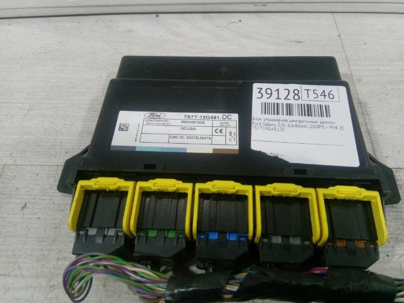 Блок управления центральным замком Ford Galaxy 2006-2015 2.0L ECOBOOST (200PS) - MI4 2010 (б/у)