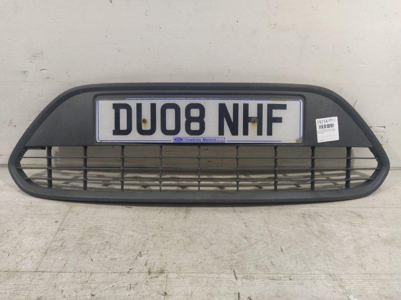 Решетка в бампер центральная нижняя Ford Focus 2 2008-2011 1.8 KKDA 2008 (б/у)