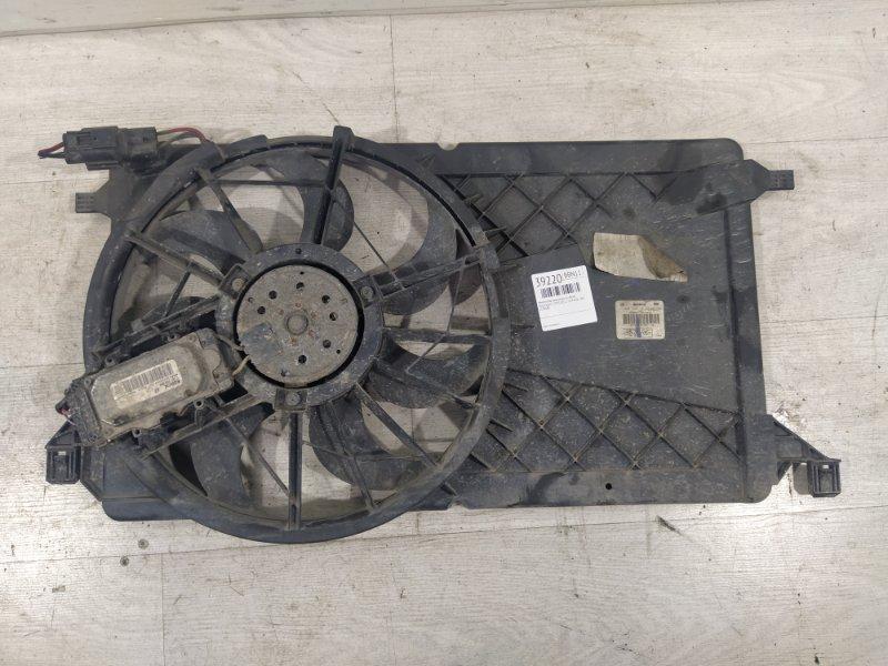 Вентилятор радиатора (в сборе) Ford Focus 2 2008-2011 1.8 KKDA 2008 (б/у)
