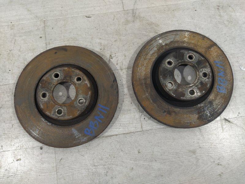 Диск тормозной передний вентилируемый Ford Focus 2 2008-2011 УНИВЕРСАЛ 1.8 KKDA 2008 (б/у)