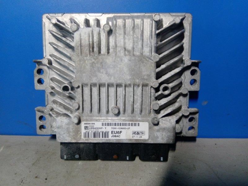 Блок управления двигателем Ford Mondeo 4 (2007-2014) 2.0L TDCI/QXBA 2008 (б/у)