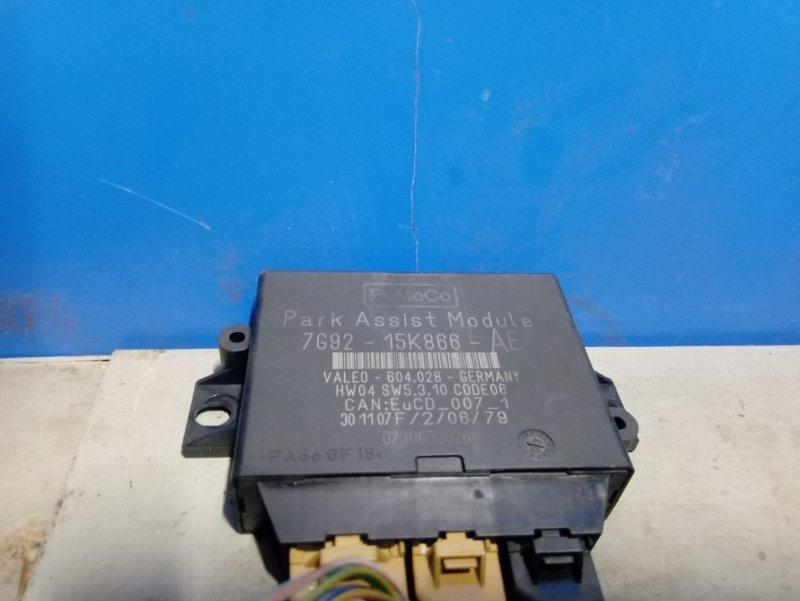 Блок управления парктрониками Ford Mondeo 4 (2007-2014) 2.0L TDCI/QXBA 2008 (б/у)