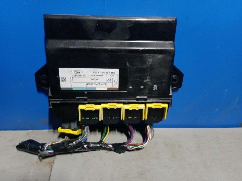 Блок управления центральным замком Ford Mondeo 4 (2007-2014) 2.0L TDCI/QXBA 2008 (б/у)