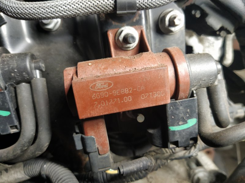 Клапан электромагнитный Ford Mondeo 4 (2007-2014) 2.0L TDCI/QXBA (б/у)