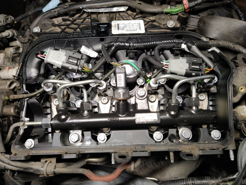 Топливная рампа Ford Focus 3 (2011>) ХЭТЧБЕК 2.0L DURATORQ 2011 (б/у)