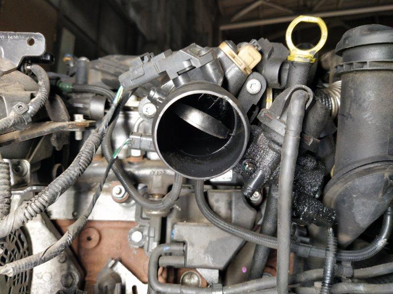 Дроссельная заслонка Ford S-Max 2006- 2.0L AZWA 2008 (б/у)