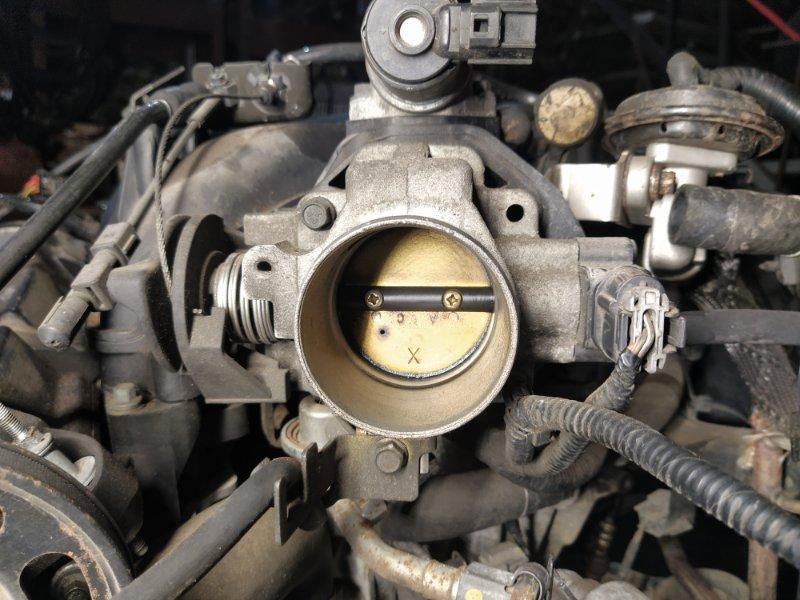 Дроссельная заслонка Ford Maverick (2001-2006) 3.0 V6 AJ 2004 (б/у)