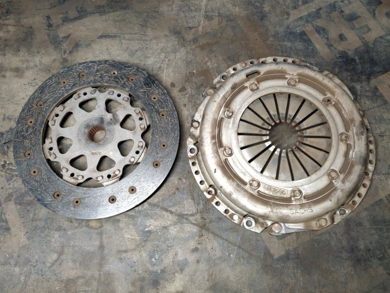 Комплект сцепления Ford Focus 2 2008-2011 ХЭТЧБЕК 1.8 TDCI/KKDA 2008 (б/у)