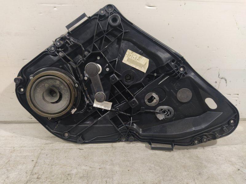 Стеклоподъёмник задний правый Ford Fiesta (2008-2012) 5-ДВЕРЕЙ (б/у)