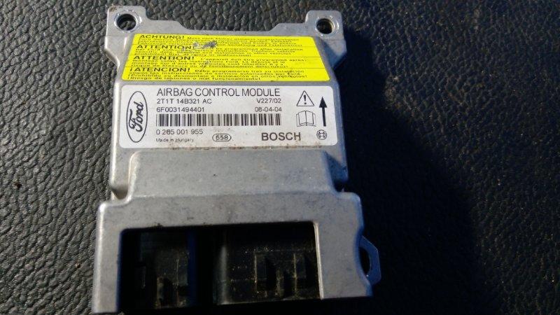 Блок управления air bag Ford Transit Tourneo/connect (2002-2013) 1.8L TDCI/KKDA 2009 (б/у)