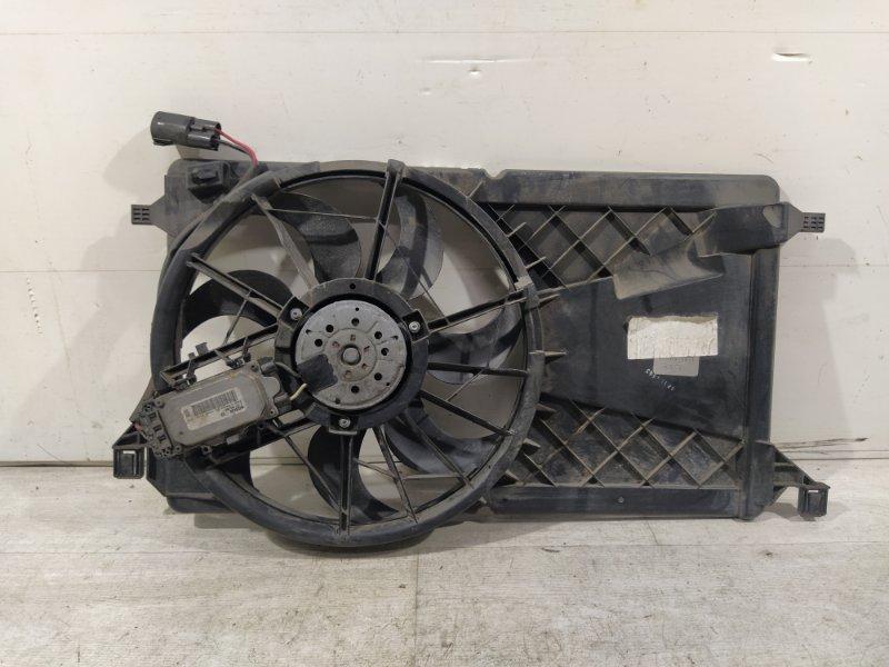 Вентилятор радиатора (в сборе) Ford Focus 2 2008-2011 УНИВЕРСАЛ 1.8L DURATEC/QQDB 2008 (б/у)