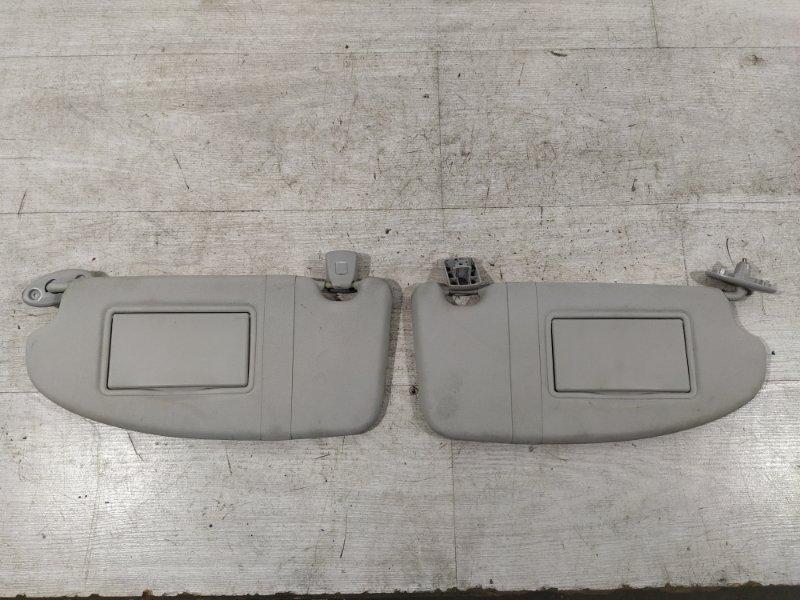 Козырек солнцезащитный (пара) Ford Focus 2 2008-2011 УНИВЕРСАЛ 1.8L DURATEC/QQDB 2008 (б/у)