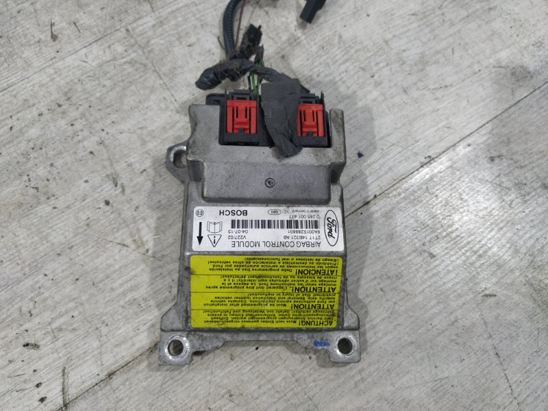 Блок управления air bag Ford Transit Tourneo/connect (2002-2013) 1.8L TDCI/BHPA 2004 (б/у)