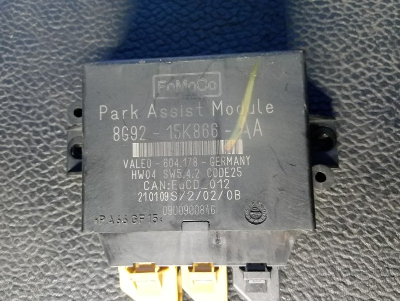 Блок управления парктрониками Ford Galaxy 2006-2015 УНИВЕРСАЛ 2.0L TDCI/QXWA (143Л.С.) 2009 (б/у)