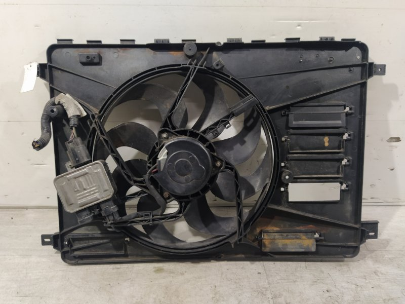 Вентилятор радиатора (в сборе) Ford Galaxy 2006-2015 (б/у)