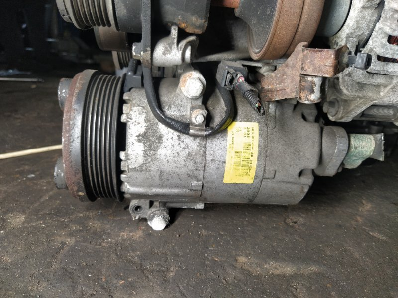 Компрессор кондиционера Ford Focus 2 2008-2011 1.8 KKDA (б/у)