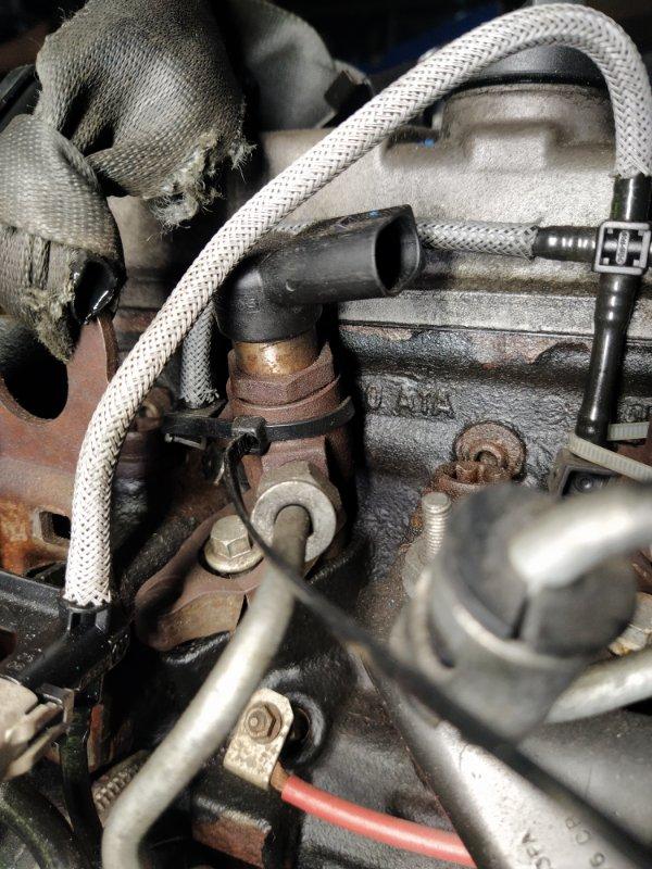 Форсунка дизельная электрическая Ford Focus 2 2008-2011 1.8 TDCI/KKDA (б/у)