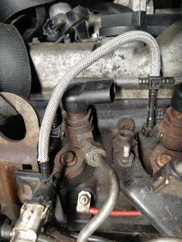 Форсунка дизельная электрическая Ford Transit Tourneo/connect (2002-2013) 1.8L TDCI/KKDA 2009 (б/у)