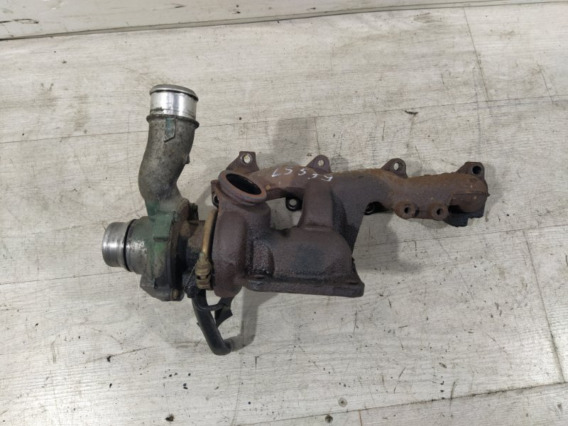 Турбокомпрессор (турбина) Ford Transit Tourneo/connect (2002-2013) 1.8L TDCI/KKDA 2009 (б/у)