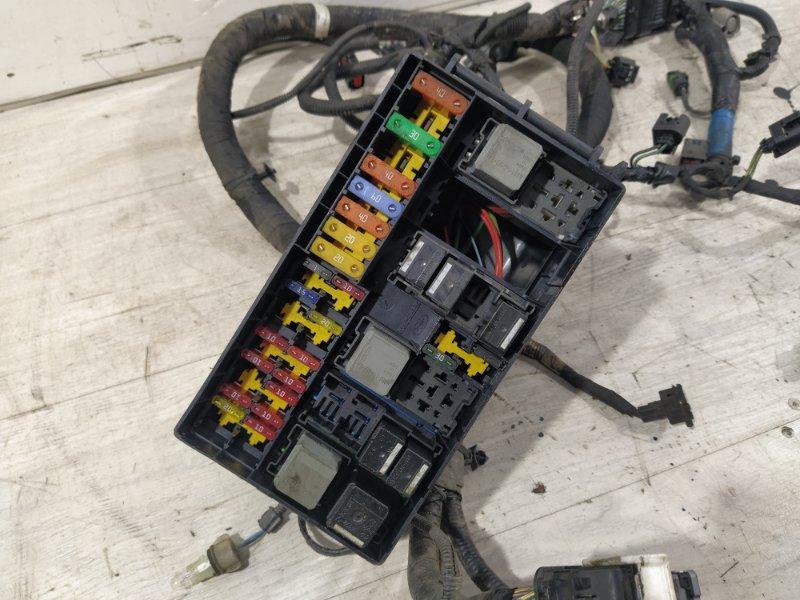 Блок предохранителей моторный Ford Transit Tourneo/connect (2002-2013) 1.8L TDCI/KKDA 2009 (б/у)