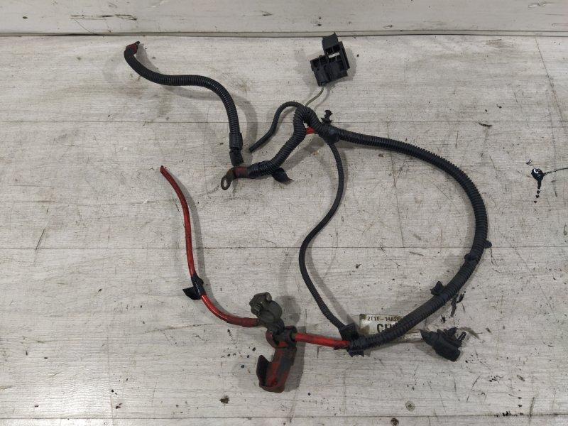 Проводка аккумулятора Ford Transit Tourneo/connect (2002-2013) 1.8L TDCI/KKDA 2009 (б/у)